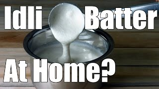 making idli batter for soft idlis at home   simple indian recipes 10