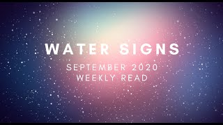 WATER SIGNS (Pisces, Cancer, Scorpio) SEPTEMBER WEEKLY READ: Full Moon in Pisces