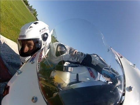 CBR1000RR Vs Cory West EBR 1190RS Testday 2013: