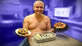 ВКУСНЫЙ СТРИМ) Как приготовить роллы и суши за КОПЕЙКИ дома? Едим и обсуждаем путешествия и Вьетнам