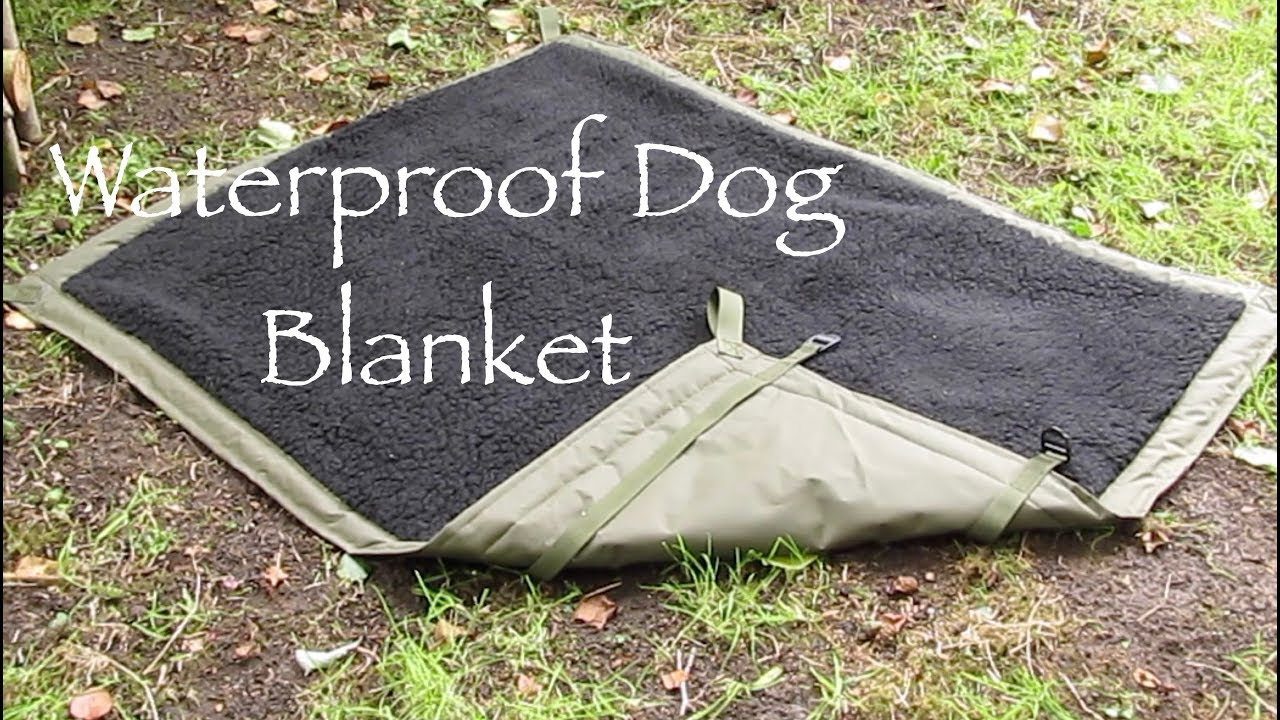Waterproof Dog Bed Blanket. How to Make