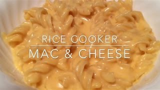 Rice Cooker Mac Cheese