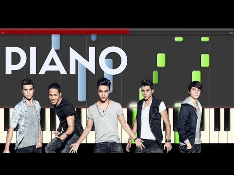 CNCO Solo Yo Piano Midi tutorial Sheet app Cover Karaoke