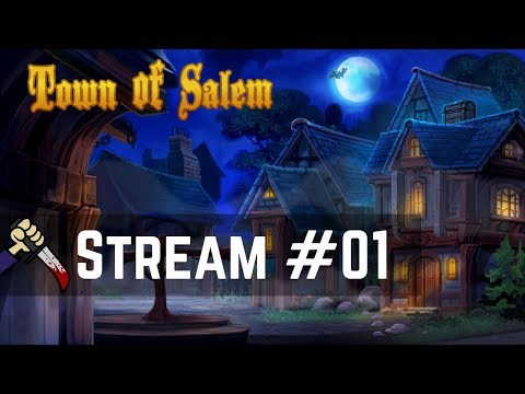 Nimdom Discord Town of Salem Game Night! | Live Streamed 【Town of Salem】