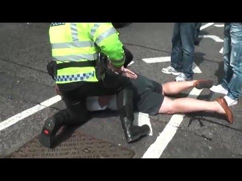 Black Cab Driver Arrested - London, UK