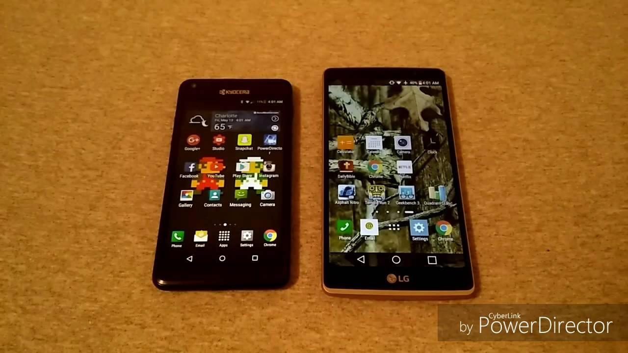 LG G Stylo vs Kyocera Hydro Reach {Boost Mobile}