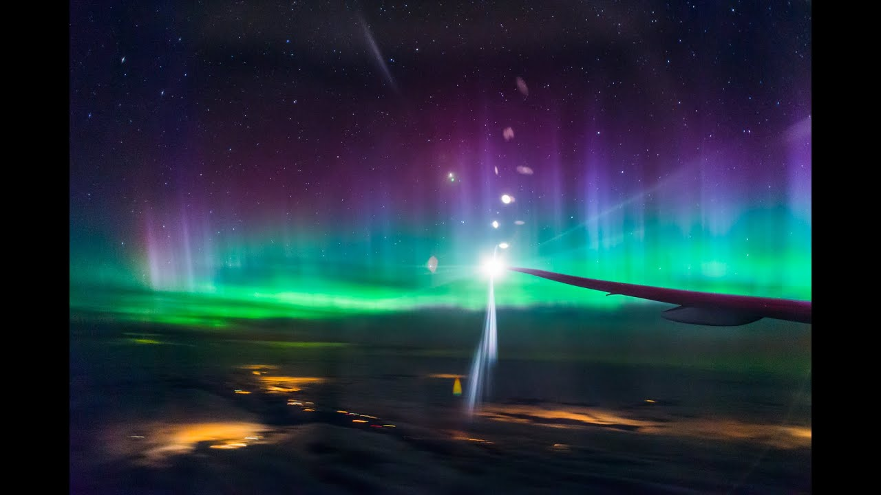 Can You See Northern Lights Plane