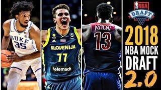 2018 NBA Mock Draft 2.0: DeAndre Ayton * Marvin Bagley * Luka Doncic