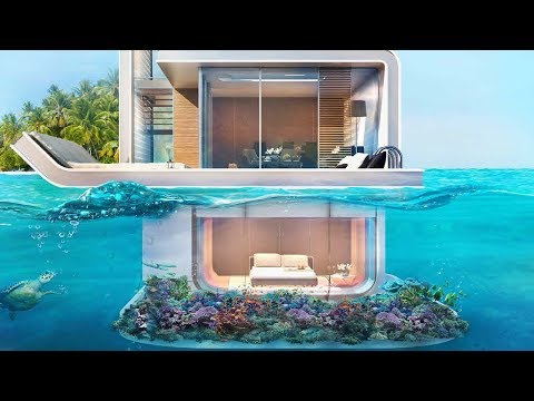 Minecraft: How to Build a Modern House on Water #2 - Tutoria