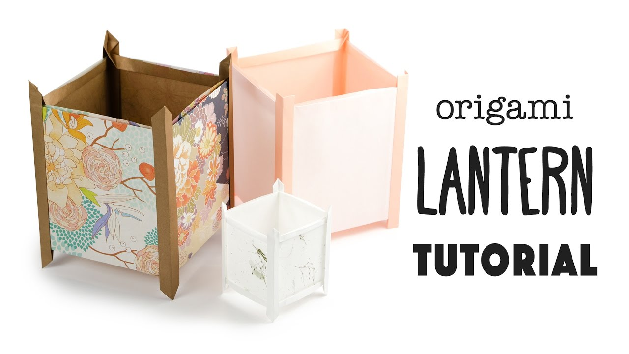 Free Printable Origami Papers from Paper Kawaii 💗 - YouTube | 720x1280