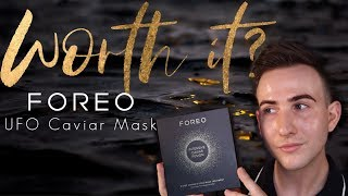 Foreo UFO 2  + Caviar mask unboxing how to and results