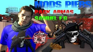 Resident Evil 6 Mod - Pack Mods Piers e Pack Armas
