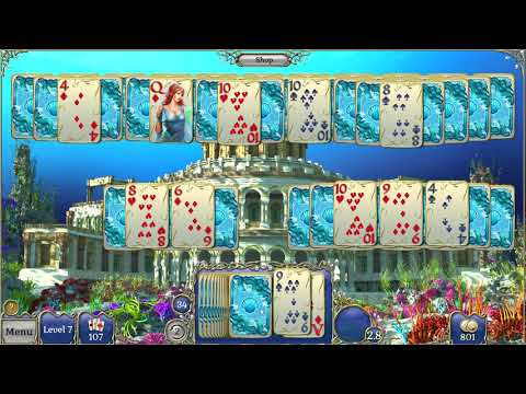 Jewel Match Atlantis Solitaire 2 Collector's Edition Gameplay  