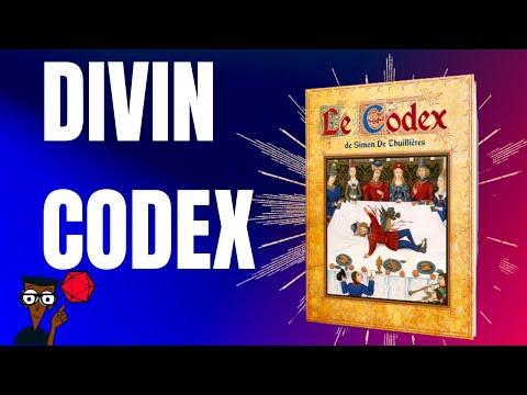 Ouverture du divin Codex de Simon Thuilieres