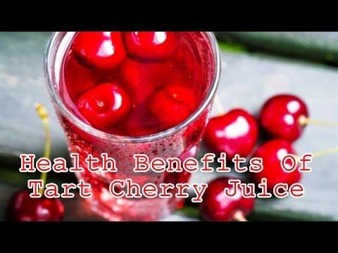 Health Benefits Of Tart Cherry Juice