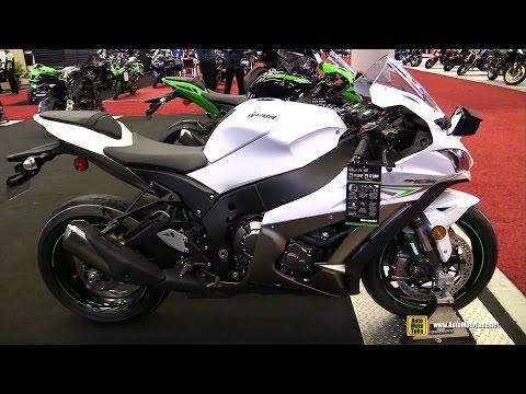 2017 Kawasaki Ninja ZX10R - Walkaround - 2017 Montreal Motorcycle Show