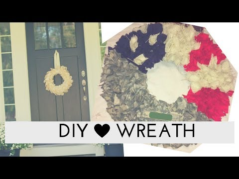 DIY Patriotic Military Wreath