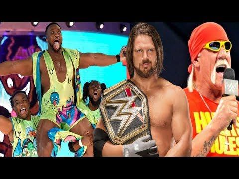 WWE New Day Breaking Up! WWE Hulk Hogan Returns! WWE AJ Styles Shinsuke Nakamura Backlash Finish