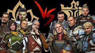 Shadow Fight 3 DYNASTY vs LEGION Faction Fight