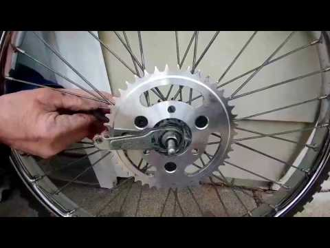 The Best Motorized Bicycle Part You Can Buy!! CNC Hub Sprocket Adapter *INSTALL*