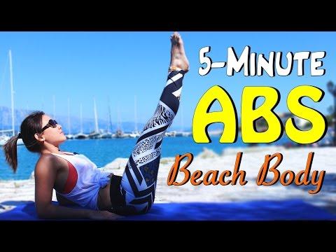5-Minute Flat Tummy Strong Core (Beach Body Series)