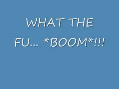 WTF Boom Sound