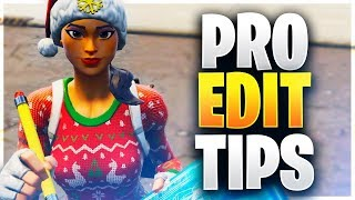 HOW TO BECOME A PRO AT EDITING IN MINUTES! (Fortnite Battle Royale)