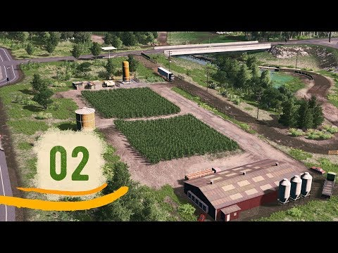 Cities Skylines: Flaire — Ep.02: Port, Farms & Whatever