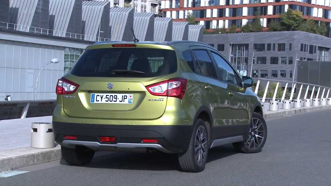 essai suzuki sx4 s cross 1 6 ddis 120ch youtube. Black Bedroom Furniture Sets. Home Design Ideas