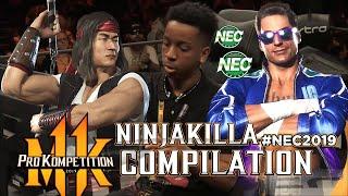 Mortal Kombat 11: NINJAKILLA KOMPILATION - NEC 2019 [ES]
