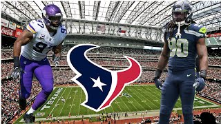 Houston Texans NOT done Making MOVES