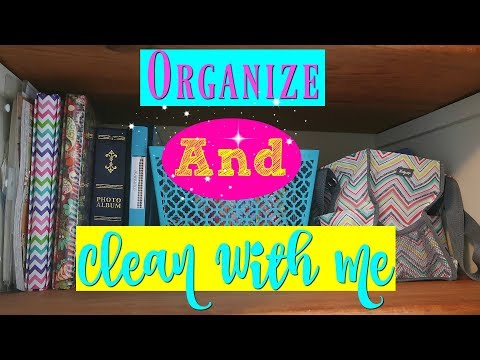 Organize and Clean With Me//Organizing Motivation//Watch Me Clean Wednesday