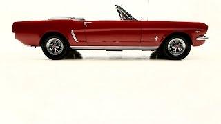 1965 Mustang Convertible, 302 V8 manual transmission