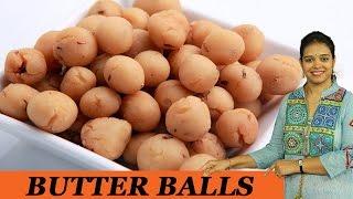 BUTTER BALLS - Mrs Vahchef