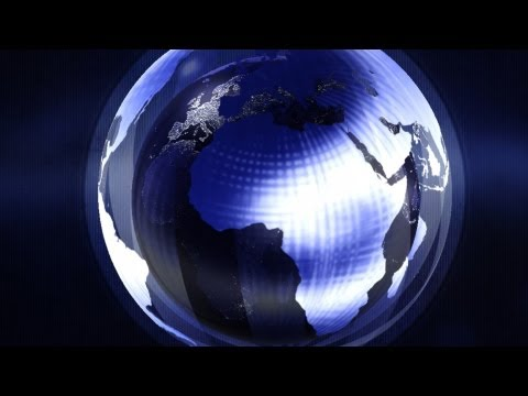 Photoshop Video Animation- 3D Earth Globe Intro - Photoshop CS6 Extended