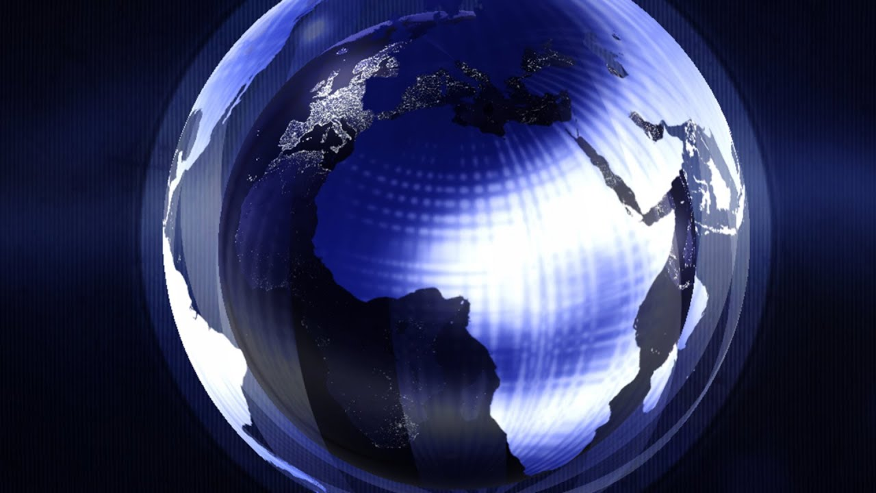 Photoshop Video Animation- 3D Earth Globe Intro ...