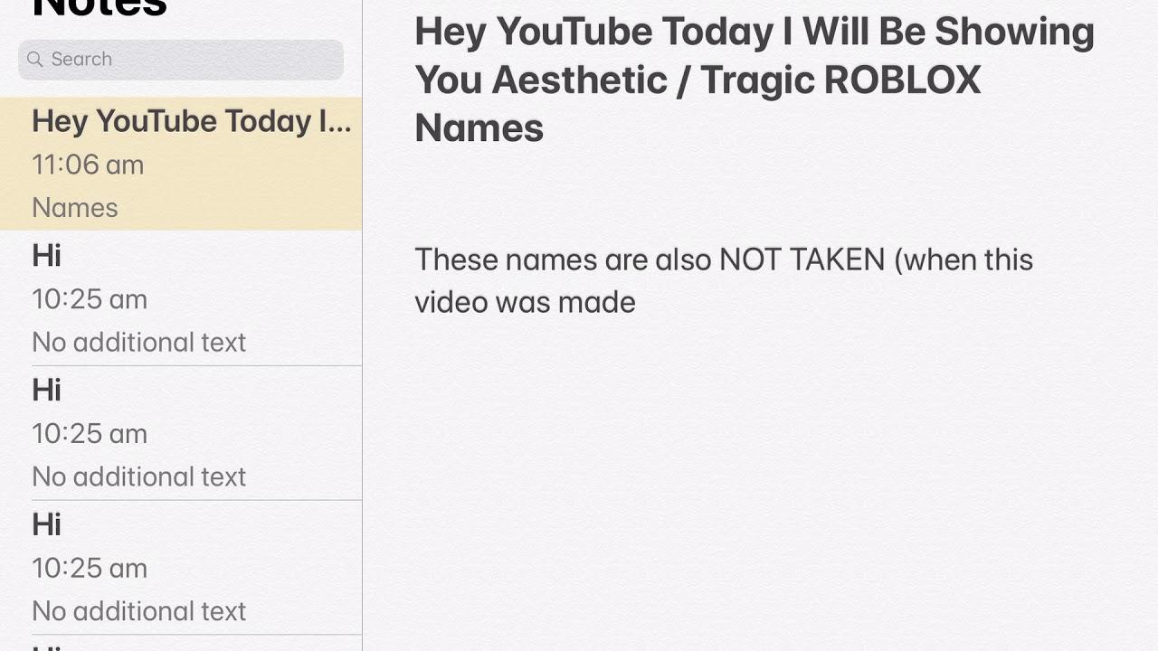 100+ Aesthetic Usernames For Roblox For Boys – yasminroohi