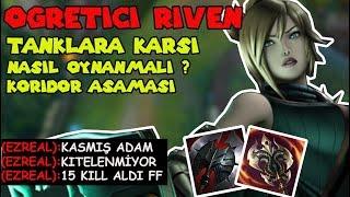 RIVEN TOP ÖĞRETİCİ - RIVEN VS CHO'GATH | TANK ŞAMPİYONLARA KARŞI NASIL OYNANIR ??