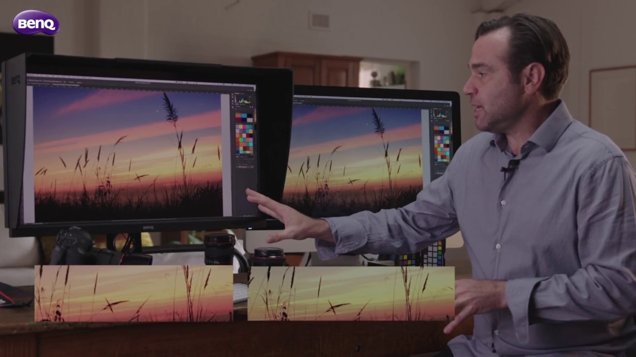 8 Bit vs 10 Bit Panel - BenQ SW Series Monitor for Photography