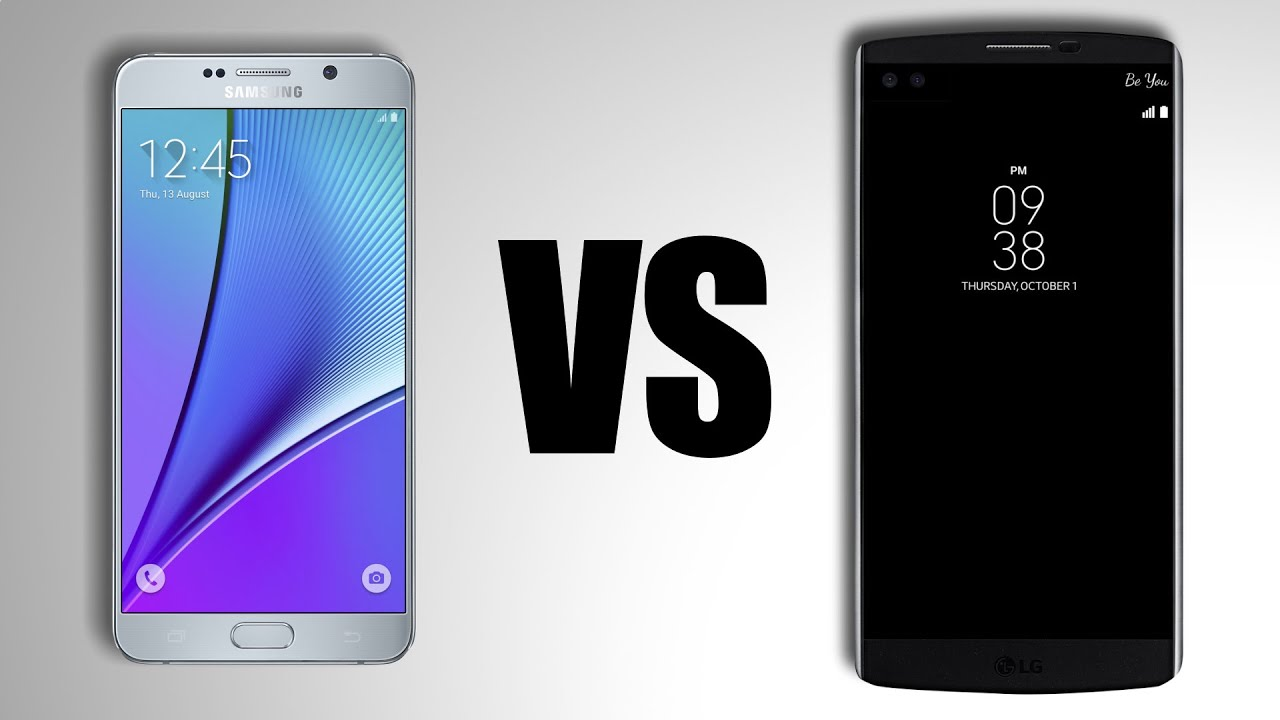 galaxy note 5 vs lg v10 youtube. Black Bedroom Furniture Sets. Home Design Ideas