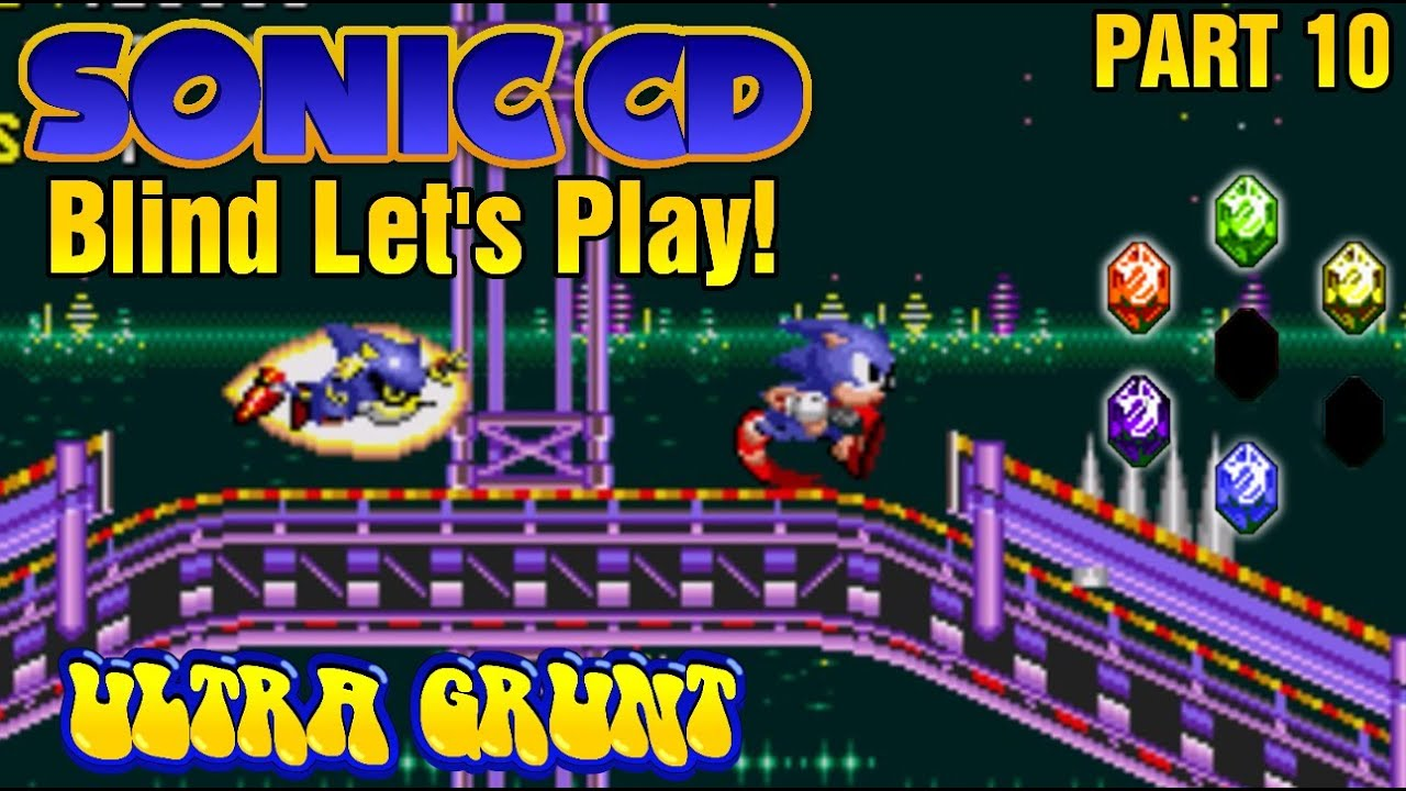 how to play as metal sonic in sonic cd