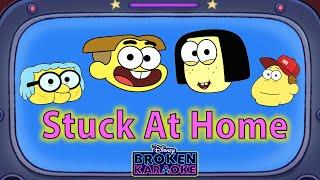 Stuck At Home Lyric Video   ZOMBIES Flesh & Bone   Broken Karaoke   Big City Greens   Disney Channel