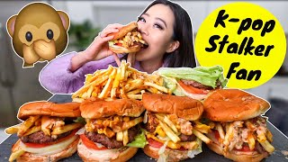 NEW IN-N-OUT MONKEY STYLE SECRET MENU MUKBANG | Eating Show