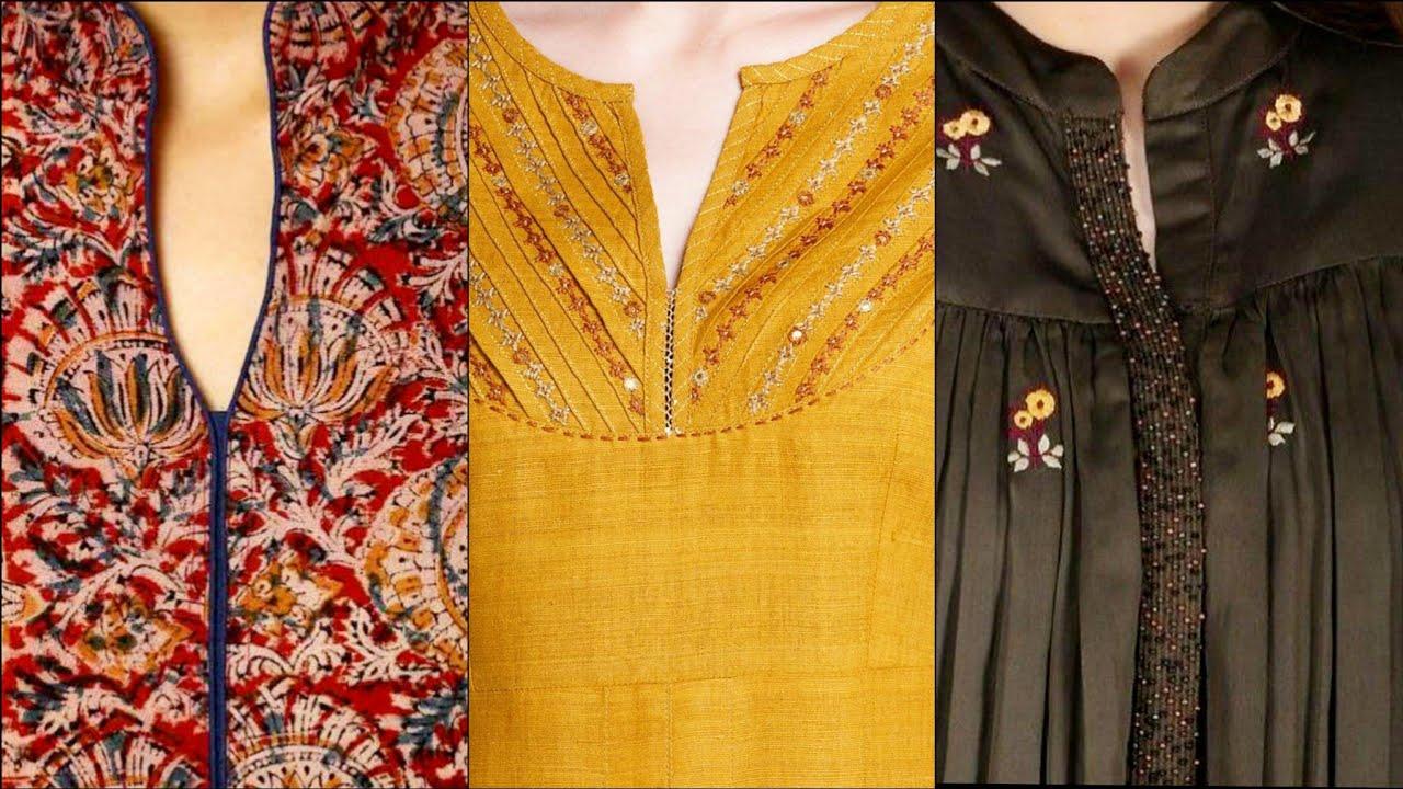 latest and Stylish Neckline Designs For Girls 2021||Designers Neck Designs Ideas/Beautiful Necklines