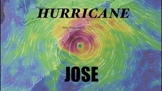 NEW - *Hurricane JOSE* - Forecast shows WILD path possibilities