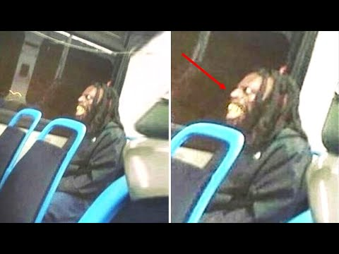 A Passenger Riding Alone On An NYC Bus Began To Hear Strange Noises Behind Them Then Saw This