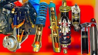 Что такое демпфер в амортизаторе, зачем нужны демпферы. Как устроен амортизатор автомобиля и мото