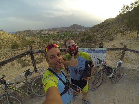Ciclismo montaña sierra Navela Martillo Scalextric Ulea Alto Ope Archena