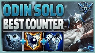 SMITE Ranked Conquest (Diamond 2) - Wrecking with Odin Solo!