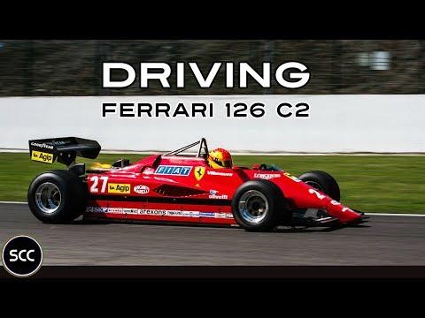 FERRARI 126 C2 Gilles Villeneuve - F1 - Modena Trackdays 2013 - Model of crash in 1982 | SCC TV